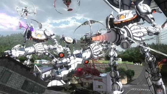 Sporych rozmiarów galeria z Earth Defense Force 4.1: The Shadow of New Despair #10