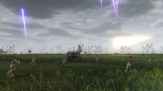 Sporych rozmiarów galeria z Earth Defense Force 4.1: The Shadow of New Despair #15