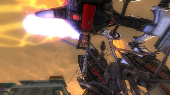 Sporych rozmiarów galeria z Earth Defense Force 4.1: The Shadow of New Despair #20