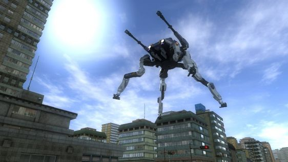 Sporych rozmiarów galeria z Earth Defense Force 4.1: The Shadow of Despair #9
