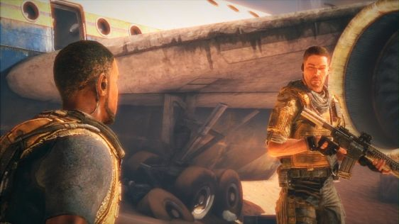 Demo Spec Ops: The Line. PS3 vs. X360. Fight! #1