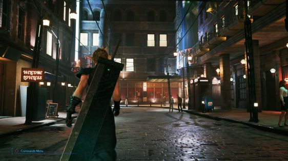 Final Fantasy VII Remake Screeny 07