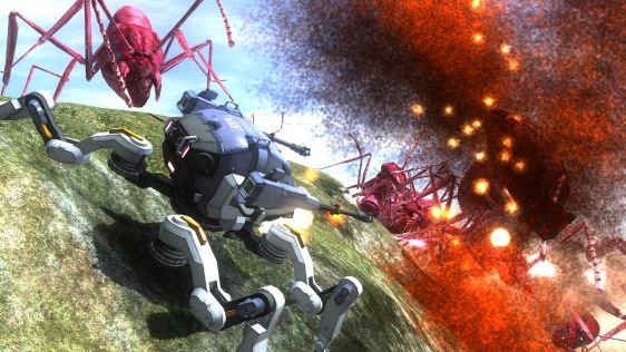 Sporych rozmiarów galeria z Earth Defense Force 4.1: The Shadow of Despair #7