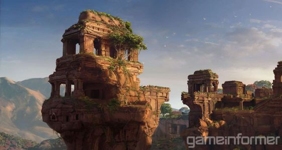 Uncharted: The Lost Legacy - piękne tereny