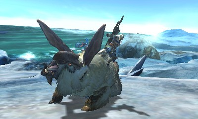 Mroźne screeny z Monster Hunter 4 #21