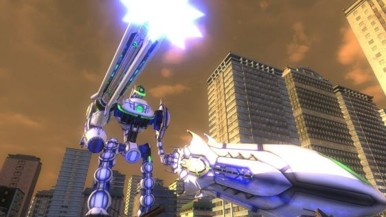 Sporych rozmiarów galeria z Earth Defense Force 4.1: The Shadow of New Despair #45