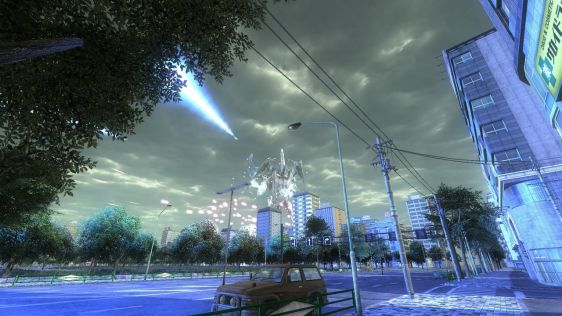 Sporych rozmiarów galeria z Earth Defense Force 4.1: The Shadow of New Despair #25