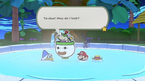 Paper Mario: The Origami King screen 6