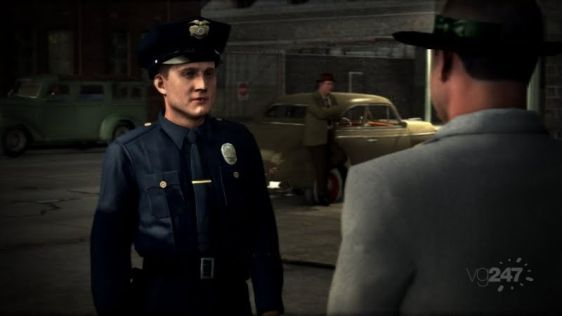 Ostre sceny w L.A. Noire