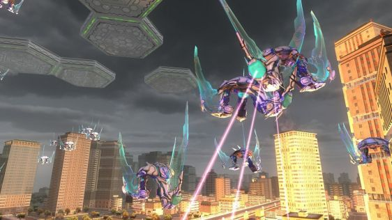 Sporych rozmiarów galeria z Earth Defense Force 4.1: The Shadow of New Despair #8