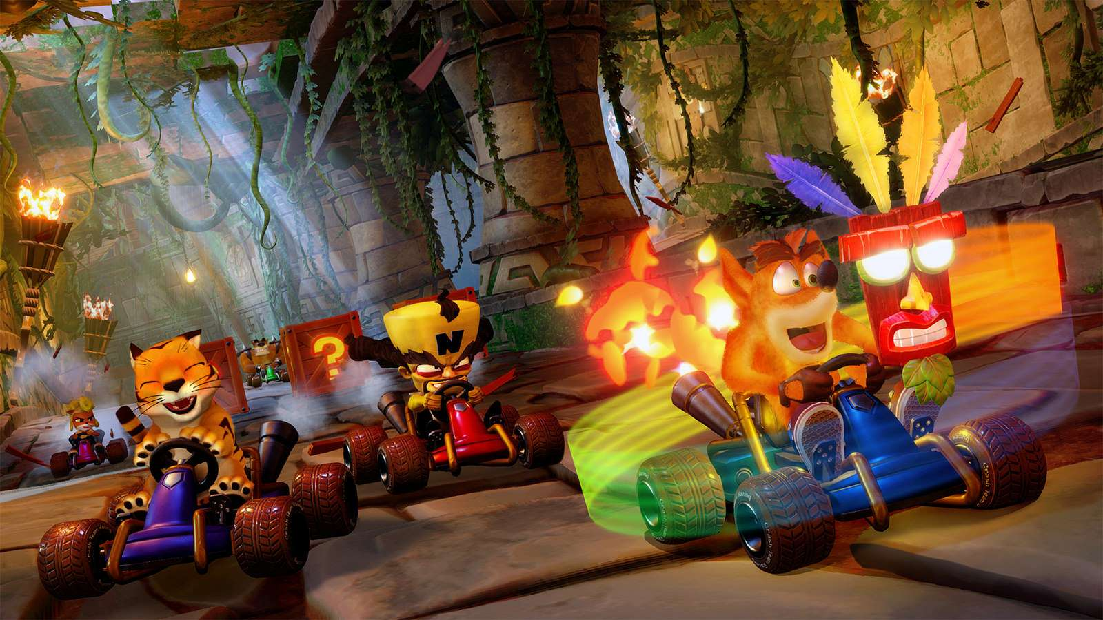 Crash Team Racing Nitro Fueled oficjalnie! Zwiastun i data premiery! #4