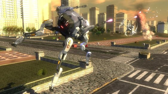 Sporych rozmiarów galeria z Earth Defense Force 4.1: The Shadow of Despair #11