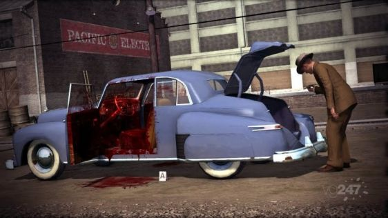 Ostre sceny w L.A. Noire #2