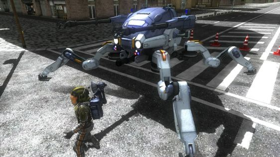 Sporych rozmiarów galeria z Earth Defense Force 4.1: The Shadow of Despair #10