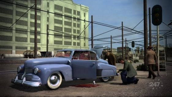 Ostre sceny w L.A. Noire #7