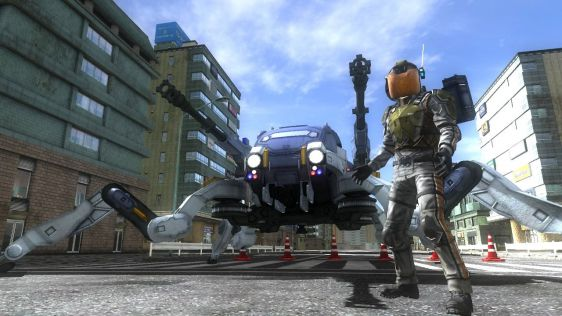 Sporych rozmiarów galeria z Earth Defense Force 4.1: The Shadow of Despair #28