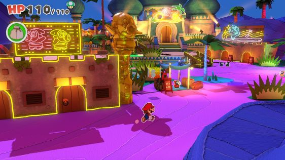 Paper Mario: The Origami King screen 4