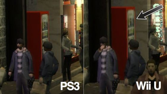 Yakuza 1 & 2 HD - PS3 vs WiiU #5