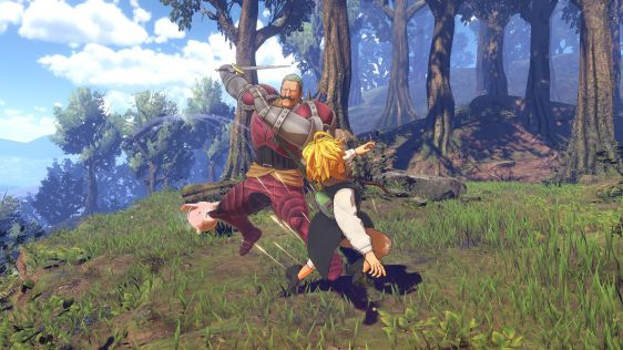 The Seven Deadly Sins: Knights of Britannia - Bandai Namco zapowiada nową grę! #3