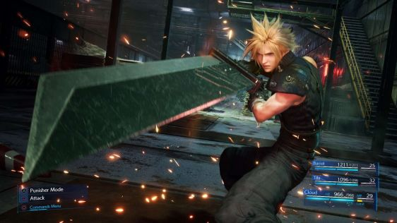 Final Fantasy VII Remake Screeny 06