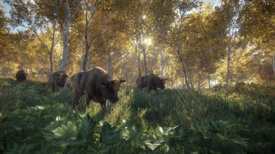 Idzie zwierzyna w theHunter: Call of the Wild