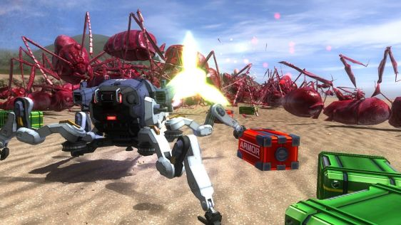 Sporych rozmiarów galeria z Earth Defense Force 4.1: The Shadow of Despair #22