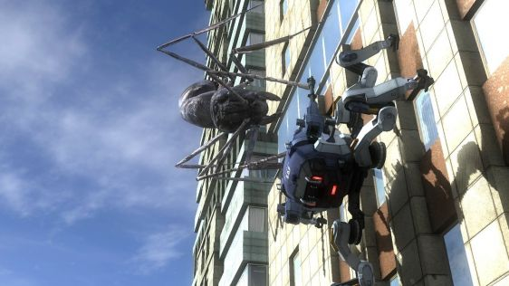 Sporych rozmiarów galeria z Earth Defense Force 4.1: The Shadow of Despair #15