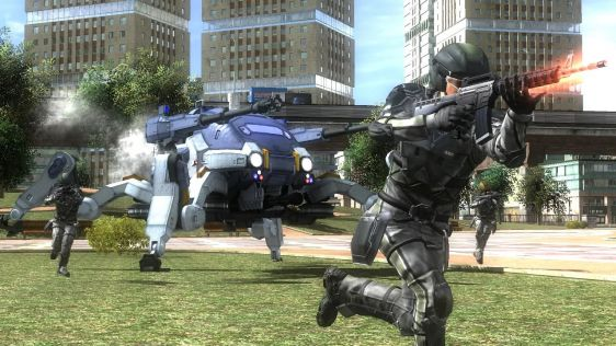 Sporych rozmiarów galeria z Earth Defense Force 4.1: The Shadow of Despair #3