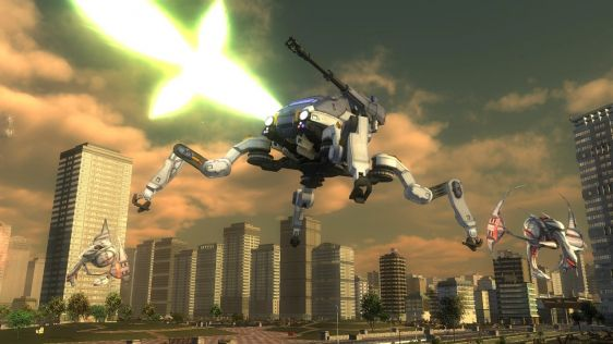 Sporych rozmiarów galeria z Earth Defense Force 4.1: The Shadow of Despair #14
