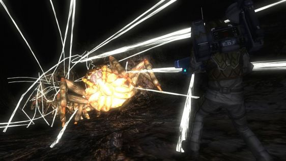 Sporych rozmiarów galeria z Earth Defense Force 4.1: The Shadow of Despair #32