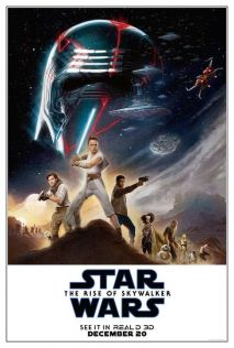 Star Wars. The Rise of Skywalker. Plakat 3D