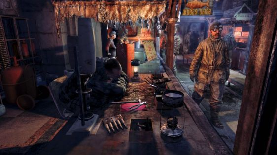 Trochę screenów z Metro: Last Light #11
