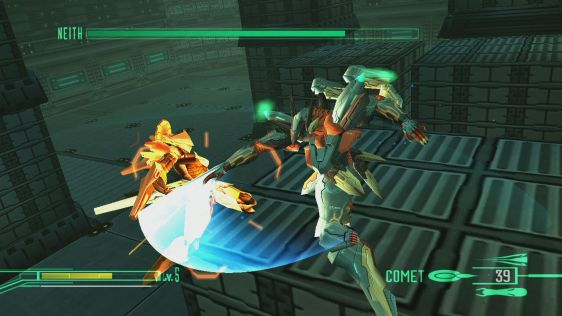 Nowe obrazki z Zone of the Enders HD #4