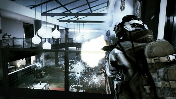 Garść screenshotów z Battlefield 3: Close Quarters #3