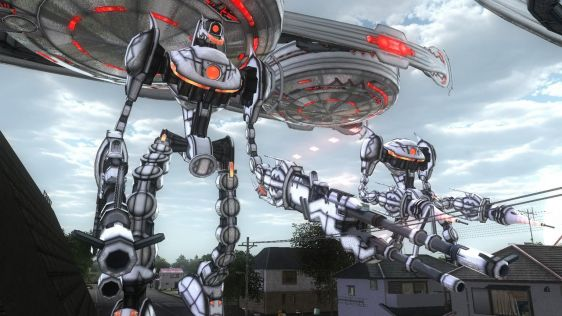 Sporych rozmiarów galeria z Earth Defense Force 4.1: The Shadow of New Despair #14
