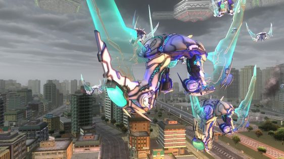 Sporych rozmiarów galeria z Earth Defense Force 4.1: The Shadow of New Despair #16