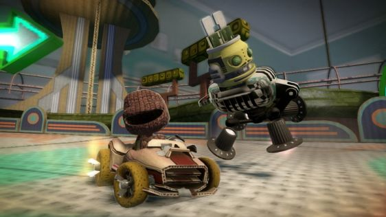 Little Big Planet Karting na nowych ujęciach #4
