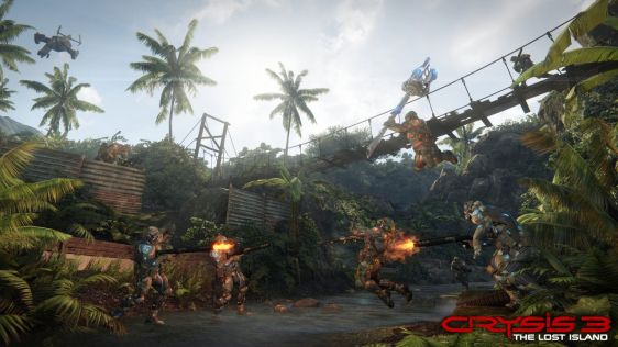 The Lost Island - multiplayerowe DLC do Crysis 3 #2