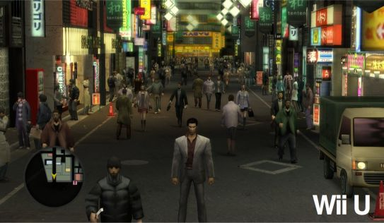 Yakuza 1 & 2 HD - PS3 vs WiiU #1