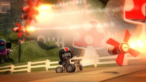 Little Big Planet Karting na nowych ujęciach #7