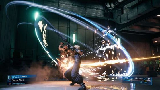 Final Fantasy VII Remake screen 2