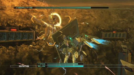 Nowe obrazki z Zone of the Enders HD #8