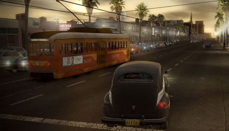 Ostre sceny w L.A. Noire #1