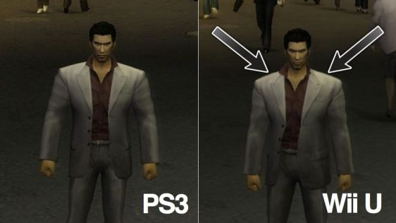 Yakuza 1 & 2 HD - PS3 vs WiiU #3
