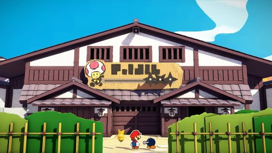 Paper Mario: The Origami King screen 9
