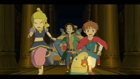Ni No Kuni: Wrath of the White Witch. Zrzuty ekranu z wersji na Nintendo Switch