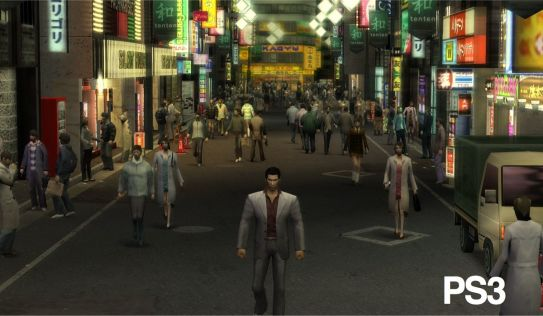 Yakuza 1 & 2 HD - PS3 vs WiiU #2