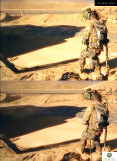 Demo Spec Ops: The Line. PS3 vs. X360. Fight! #16