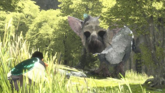 Ze screenami mu nie do twarzy - zrzuty ekranu z The Last Guardian #4