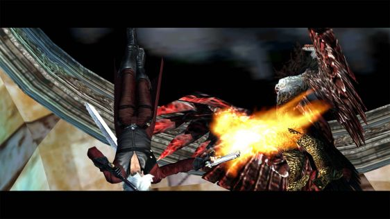 Devil May Cry HD Collection przypomina o sobie zrzutami w 1080p #4